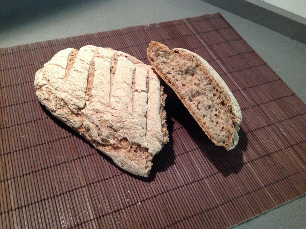 Pane senza glutine con farina di sorgo