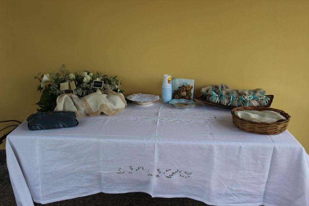 allestimento buffet battesimo